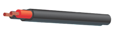 twin-sheathed DC cable